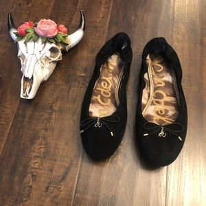 Sam Edelman | Felicia Ballet Black Suede Flats